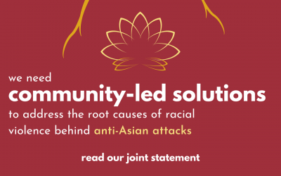 Joint Statement Calling for Immediate and Deep Investments to Address the Root Causes of Racial Violence