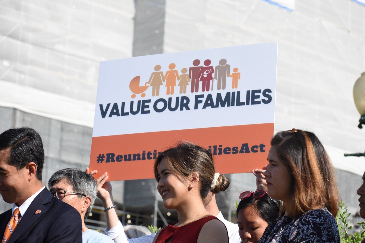 value our families #ReunitingFamiliesAct