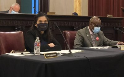 State Sen. Tina Maharath addresses violence against the Asian American community