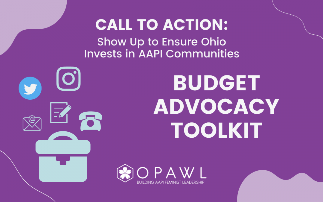 Call to Action: Show up to Ensure Ohio Invests in Asian/AAPI Communities