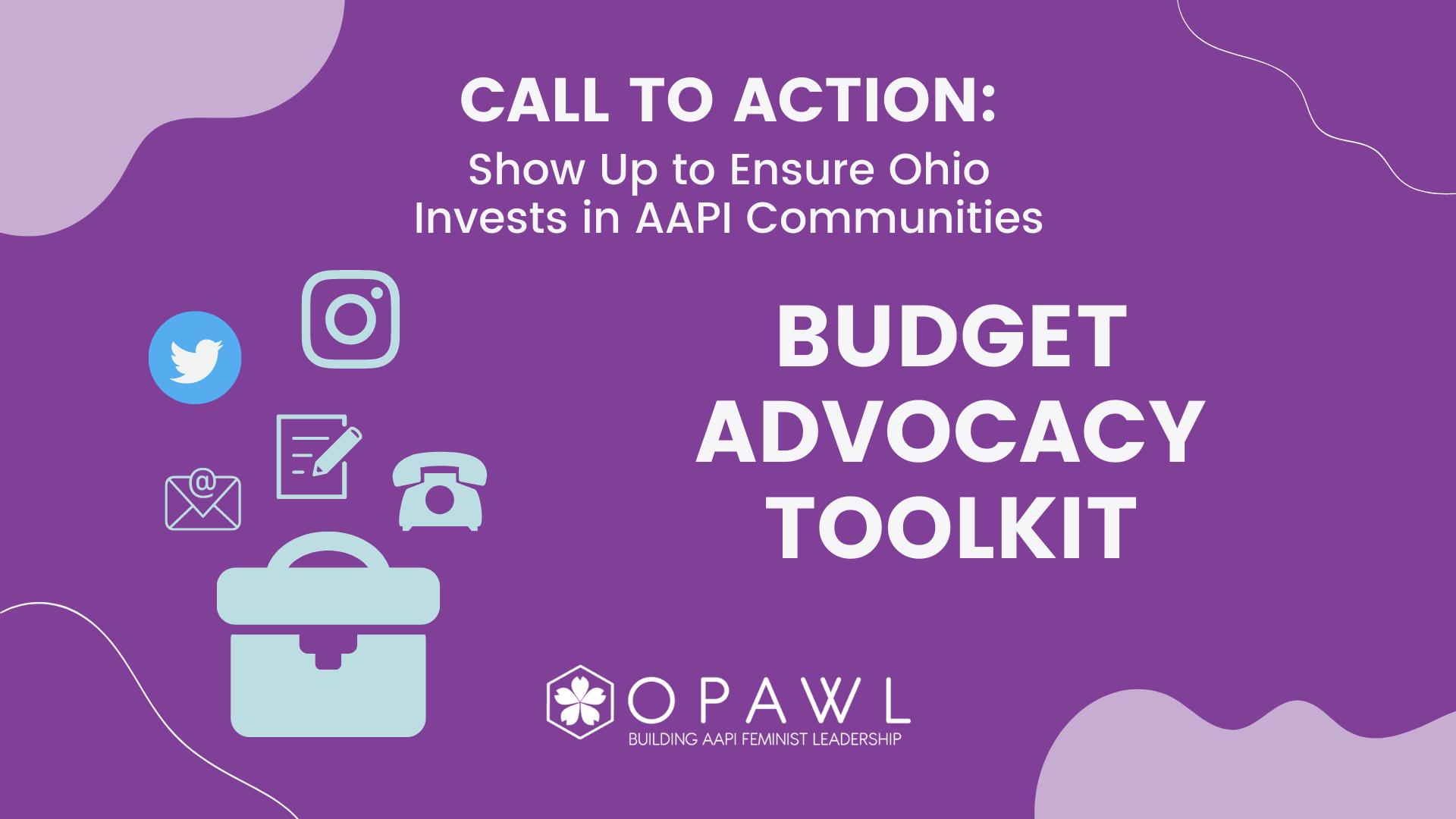 OPAWL Budget Advocacy Toolkit
