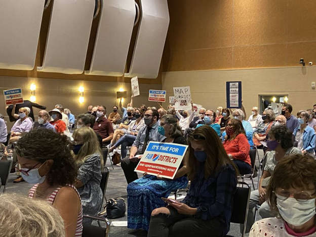 Northern Ohioans overwhelmingly outraged by GOP-led maps at Ohio Redistricting Commission hearing at Tri-C Corporate College